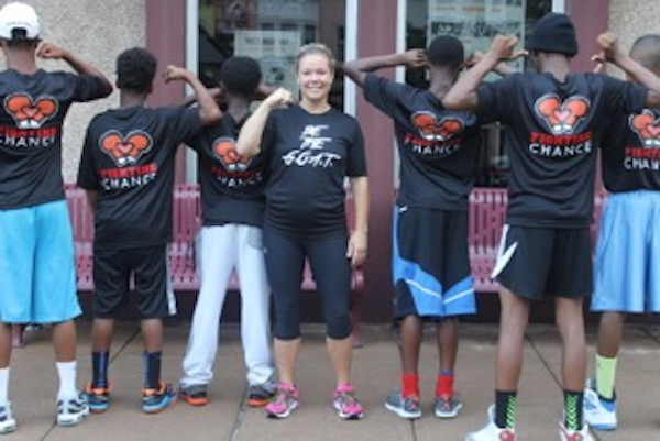 Megan Schmittauer has built Fighting Chance into a successful boxing/mentoring program