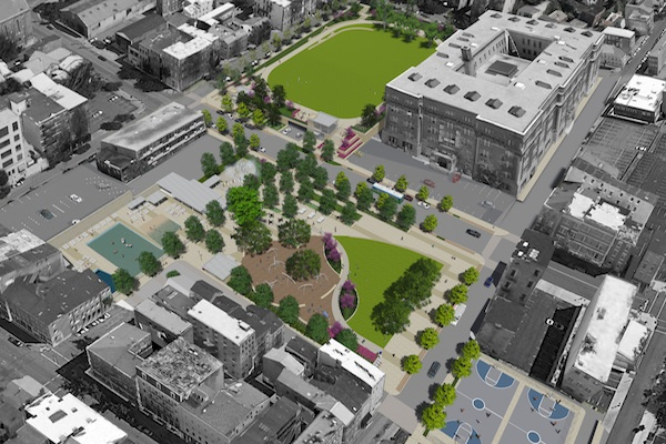 Work begins this year on Ziegler Park and will help boost eastern OTR and Pendleton