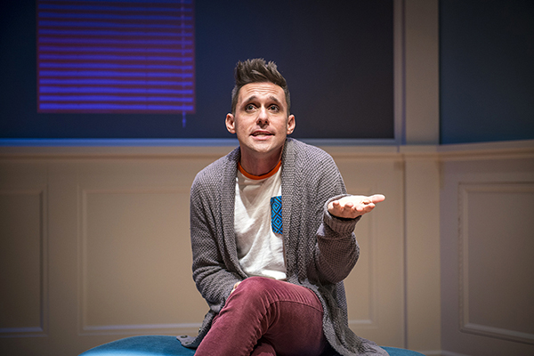 "Local actor Nick Cearley starred in Ensemble Theatre's recent production of ""Buyer and Cellar"""