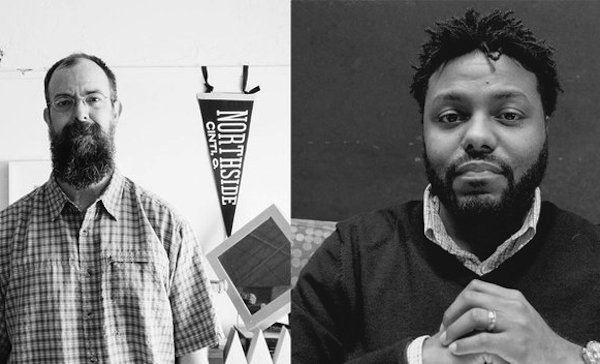 Chris Glass (left) and Brandon Black are Haile Fellows for 2016
