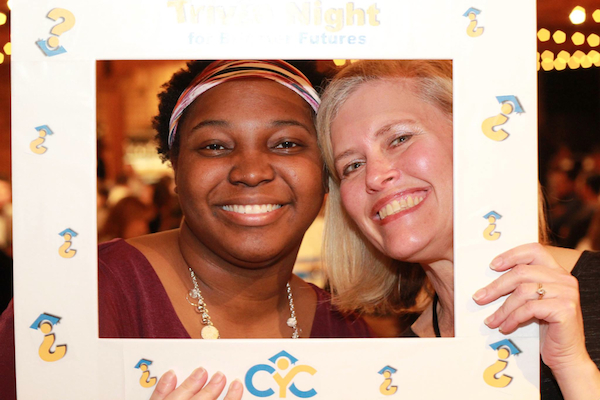 Shandreanna Martin (left) met her mentor, Lori Meyer, through Cincinnati Youth Collaborative