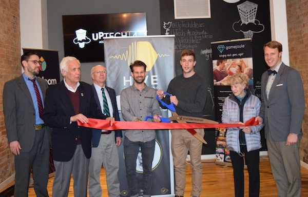 Hive graduated from UpTech's fourth accelerator class in February