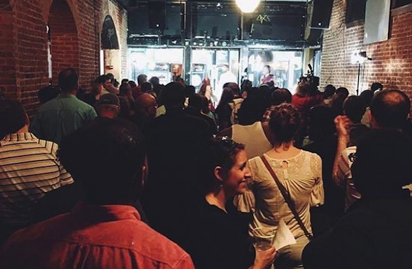 Mortar hosted a Pitch Night April 26 at the Drinkery OTR