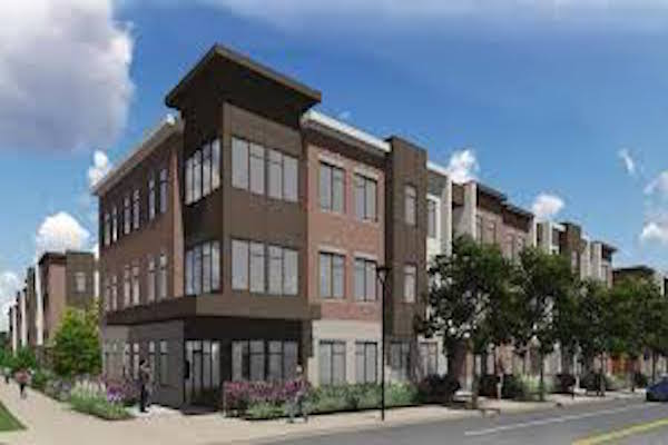 Rendering of DeSales Flats Phase II