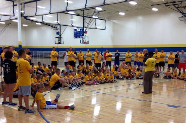 Shannon Minor's father/child basketball camp benefits Kicks for Kids