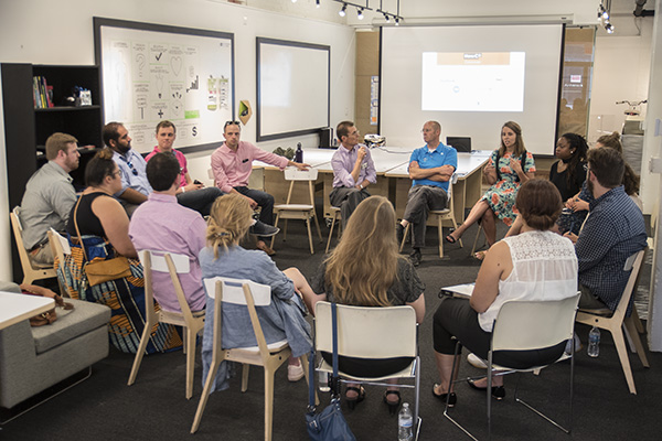 ArtWorks Cincinnati hosted a NewCo session about creative enterprise