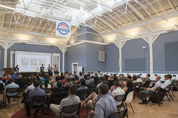 Cintrifuse's Union Hall hosted a day-long series of NewCo sessions