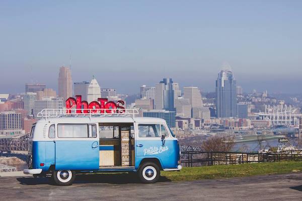 Vintage VW Bus Helps Create Photo Memories For Cincinnatians