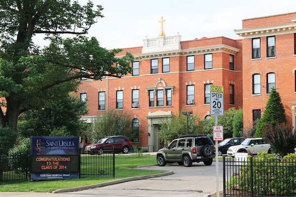 St. Ursula Academy, a private option in East Walnut Hills.