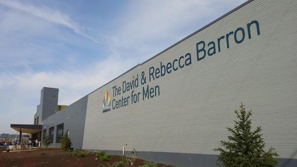 This year's Winter Shelter will be housed in the David & Rebecca Barron Center for Men.
