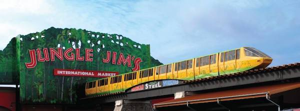 Both Jungle Jim's locations were named must-see travel destinations in Ohio.