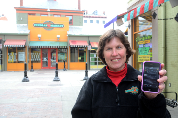 Barb Cooper co-owner of Daisy Mae's Market at Findlay Market
