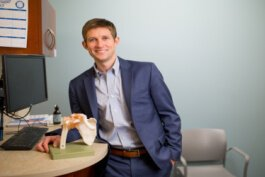 Northern Kentucky's Dr. Michael Greiwe has developed an orthopedics telemedicine app used across the country.