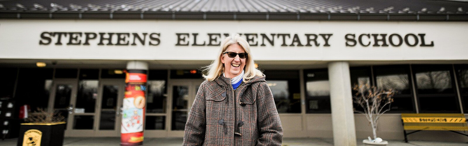 Julie Pile's interest in education started as a PTA volunteer at Stephens Elementary.