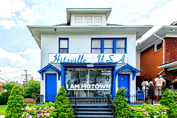 Hitsville U.S.A., home of the Motown Museum in Detroit