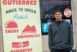 Sergio Gutierrez helps run Gutierrez Deli in Covington.
