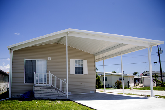 Trailer Estates manufactured home in Sarasota, Fla.