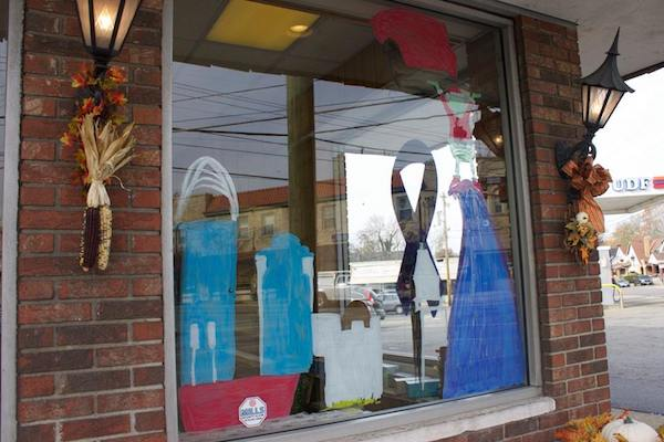 Price Hill storefronts get dressed up for the holidays.