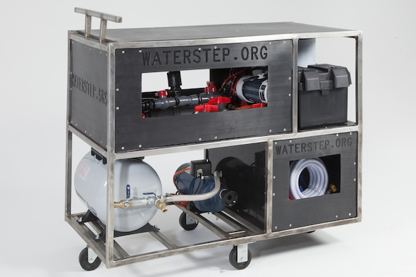 WaterStep's mini water chlorination plant