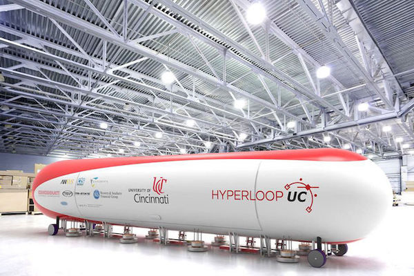 The Hyperloop prototype is made up of four main proponents: The capsule, the tube, the linear accelerator needed to propel the pod and a route with stations.