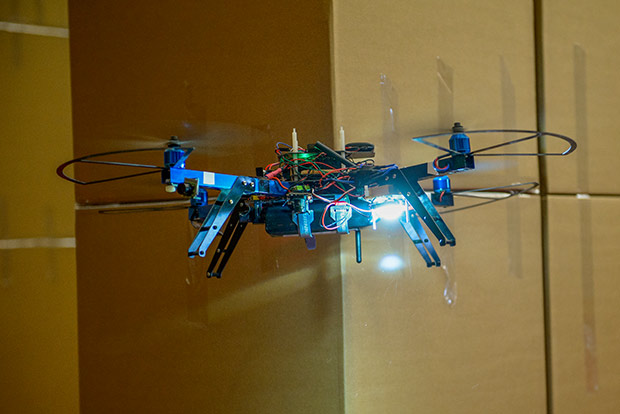 Battery tech developed from an OFRN project could be used to extend flying distance of drones.