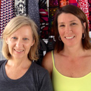 Bev Perrea and Beth Koenig of BANDI