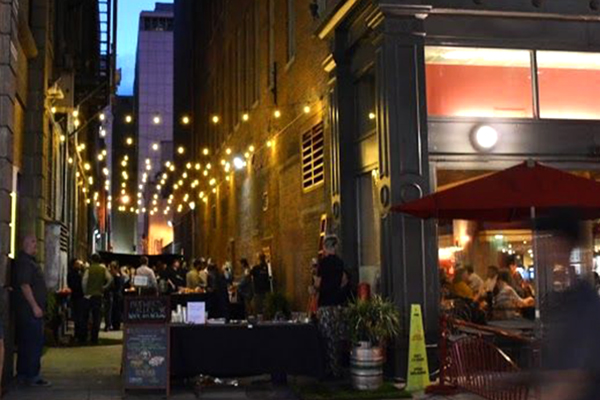 Alleys be e pathways to urban revitalization