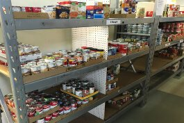 An initial priority for the new fund will be food and cleaning supplies. Shown here: Be Concerned: The People's Pantry, one of the region's largest food pantries.