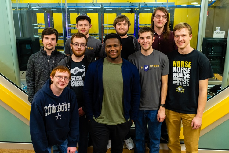 NKU's Cyber Defense team placed first in Kentucky and is headed to regional competition.